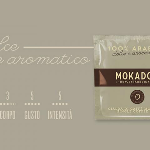 Caffè 100 % Arabica Mokador Dagila Vending Arezzo