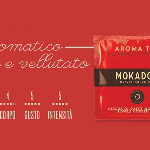 Caffè Aroma Top Mokador Dagila Vending Arezzo