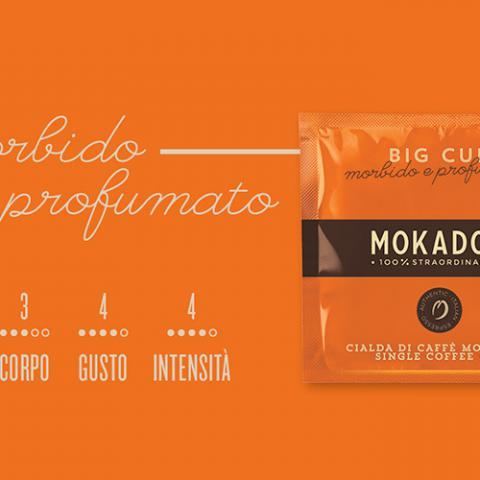 Caffè Big Cup Mokador Dagila Vending Arezzo