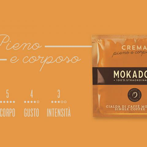 Caffè Crema Mokador Dagila Vending Arezzo