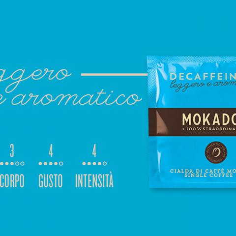Caffè Decaffeinato Mokador Dagila Vending Arezzo