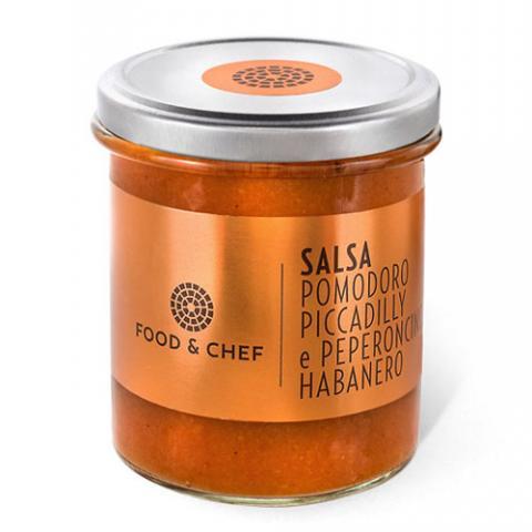 Salsa Pomodoro Piccadilly e Peperoncino Habanero Food & Chef Vetrinando