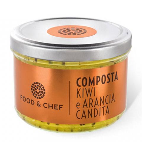 Composta Kiwi e Arancia Candita Food & Chef Vetrinando