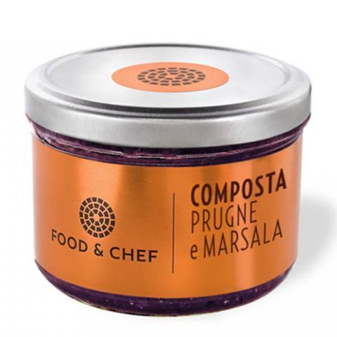 Composta Prugne e Marsala Food & Chef Vetrinando