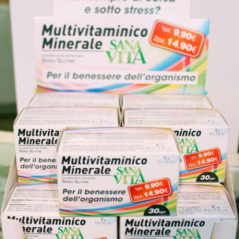 Multivitaminico Vita Sana Farmaerre Arezzo