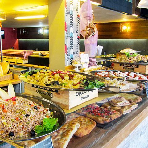 Pranzo a buffet Cattive Abitudini Arezzo