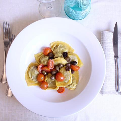 Primi Piatti tortelli di piccione ristorante la Tagliatella Arezzo