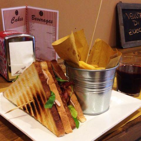 Club Sandwich Eda's Bakery Vetrinando Arezzo