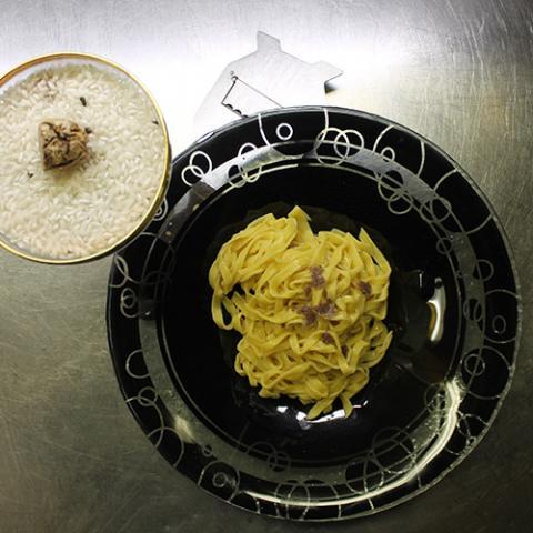 Tagliolino al tartufo bianco ristorante Dario e Anna Arezzo