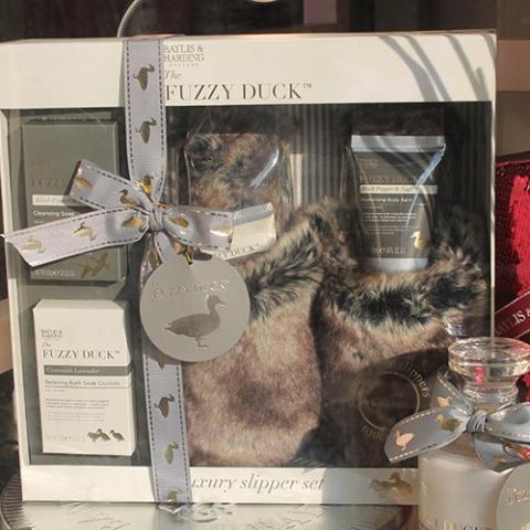 Fuzzy DUck confezione pantofole Farmaerre