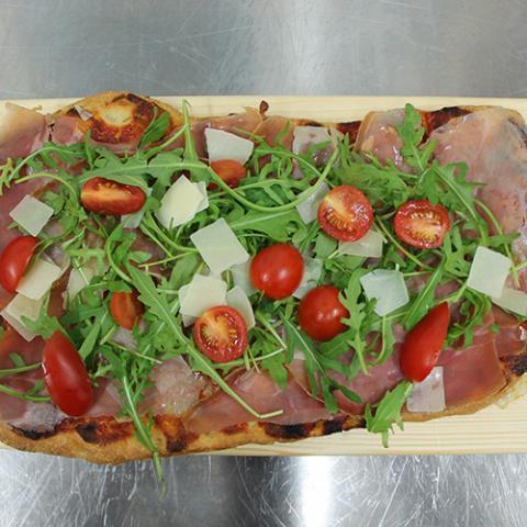 Pizza alla pala Quokka cafè Arezzo