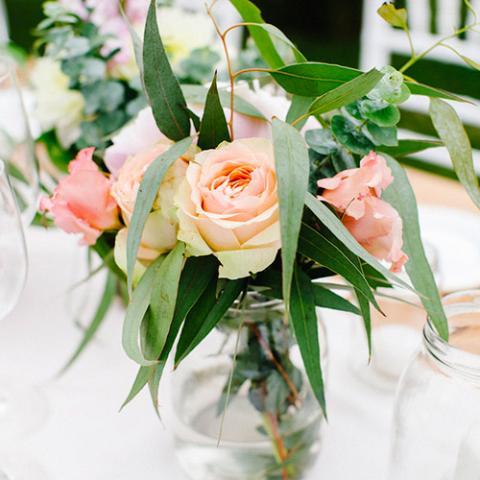 Country Chic: allestimento tavoli Flowers Living Vetrinando Arezzo