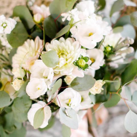 Elegant wedding: bouquet Flowers Living Vetrinando Arezzo
