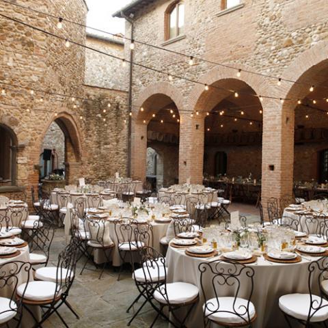 Shabby Chic Wedding: allestimento tavoli Flowers Living Vetrinando Arezzo