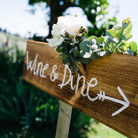 Romantic Wedding: allestimento auto Flowers Living Vetrinando Arezzo