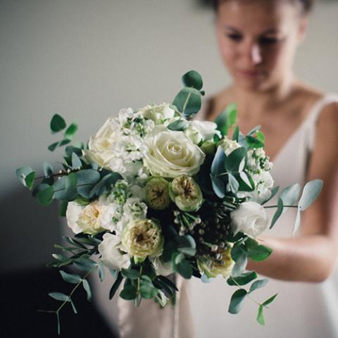 Late Autumn Wedding: bouquet e bottoniere Flowers Living Vetrinando Arezzo