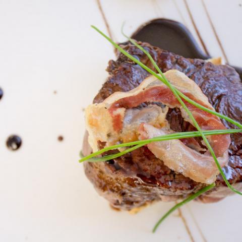 Filetto all'aceto balsamico ristorante La Tagliatella Arezzo Vetrinando