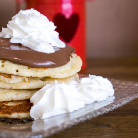Pancake Alla Nutella Eda's Bakery Vetrinando Arezzo