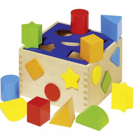 Cubo con Forme Colorate Wonderland Vetrinando Arezzo
