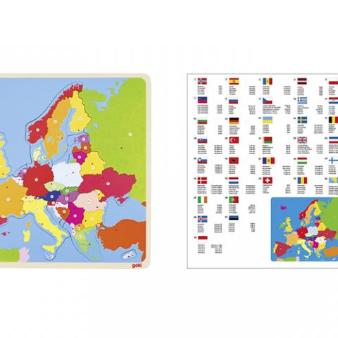 Puzzle Europa Wonderland Vetrinando Arezzo