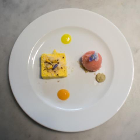 Parfait al Mango ristorante Dario e Anna Arezzo Vetrinando