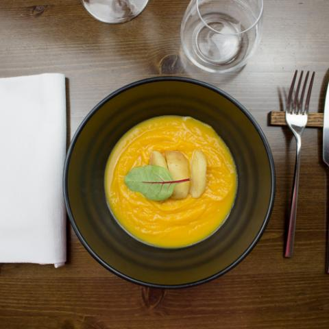 Vellutata di zucca gialla ristorante Bistrot 31 Arezzo