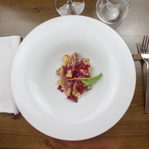 Petto d'anatra ristorante Bistrot 31 Arezzo