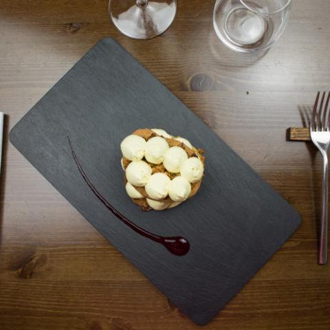 Mousse di vinsanto e tabacco ristorante Bistrot 31 Arezzo