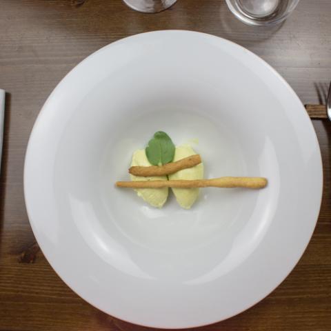 Crema di rosmarino dolce ristorante Bistrot 31 Arezzo
