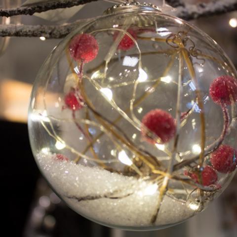 Palla di Natale Interni Design Vetrinando Arezzo
