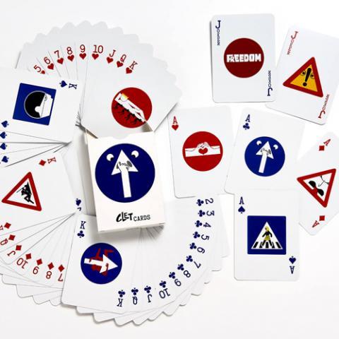 Carte Clet Cards Wonderland Vetrinando Arezzo
