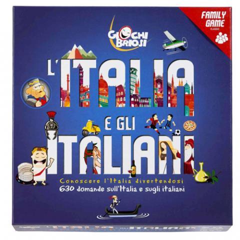 Gioco da Tavolo L'Italia e gli italiani Wonderland Vetrinando Arezzo