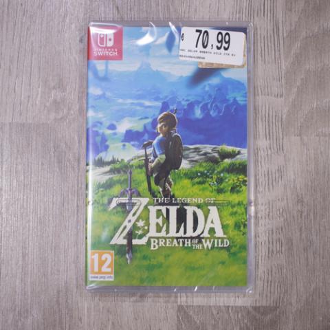 The Legend of Zelda Breath of the Wild Game Tekk Vetrinando Arezzo