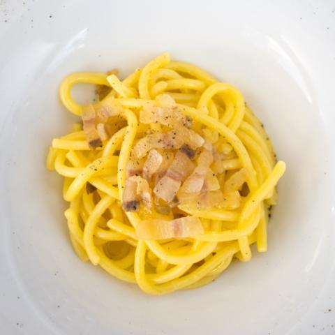 La Carbonara del Doc La Tagliatella Vetrinando Arezzo