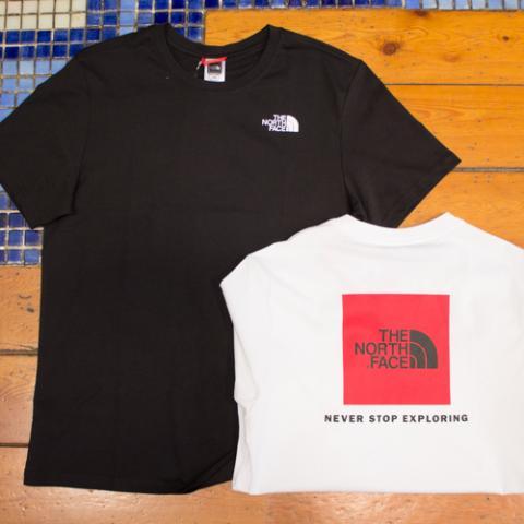 T-Shirt Uomo North Face Officina Vetrinando Arezzo