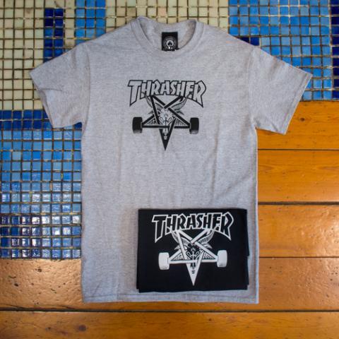 T-shirt Uomo Trasher Officina Vetrinando Arezzo