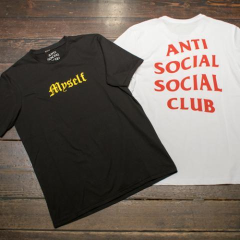 T-shirt Uomo Anti Social Ultimo Vetrinando Arezzo