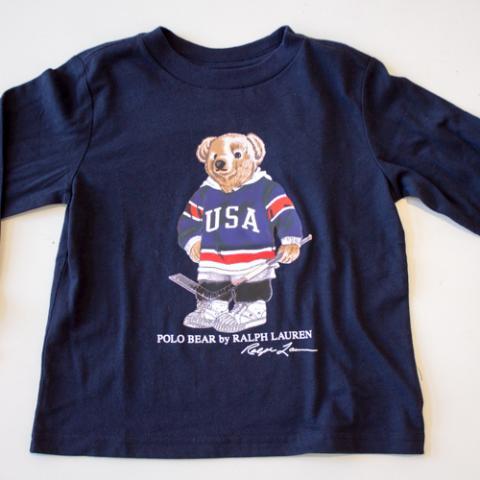 T-Shirt Bambino Ralph Lauren Ada e Zucchero Vetrinando Arezzo
