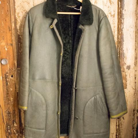 Shearling Uomo Real Vintage Wow! Vintege Shop Vetrinando Arezzo