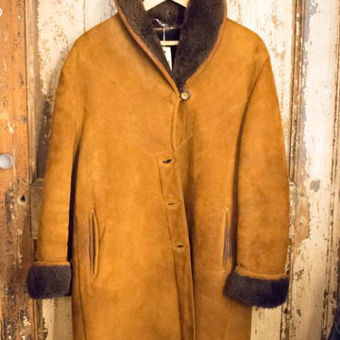 Shearling Donna Real Vintage Wow! Vintege Shop Vetrinando Arezzo
