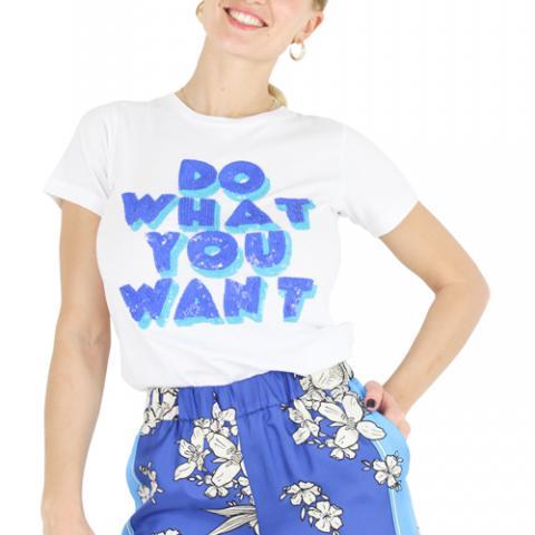 T-Shirt Donna Parosh Spazio Lorj Vetrinando Arezzo