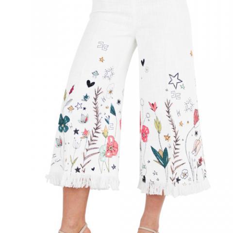 Pantaloni Donna Elisabetta Franchi Spazio Lorj Vetrinando Arezzo