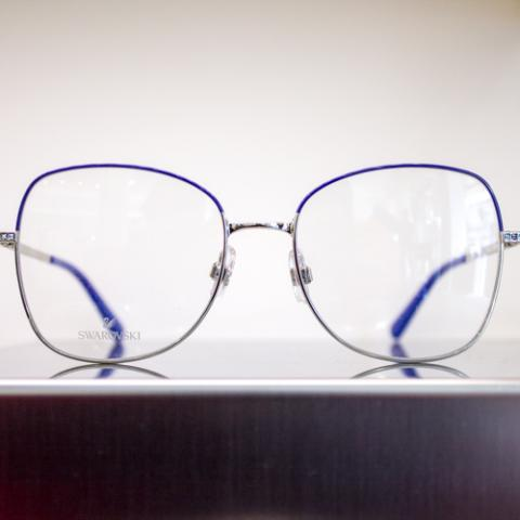 Montatura da Vista Donna Swarovski Ottica l'Occhiale Vetrinando Arezzo