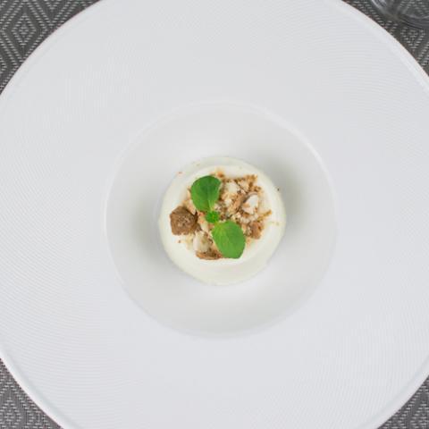 Panna Cotta al Cioccolato Bianco Convivio Ristotigelleria Toscana Vetrinando Arezzo