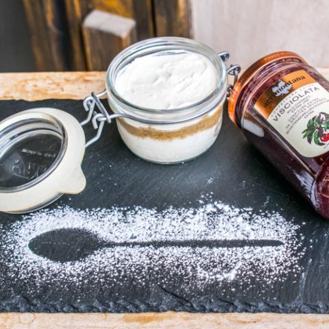 Cheesecake nel Barattolo Convivio Ristotigelleria Toscana Vetrinando Arezzo
