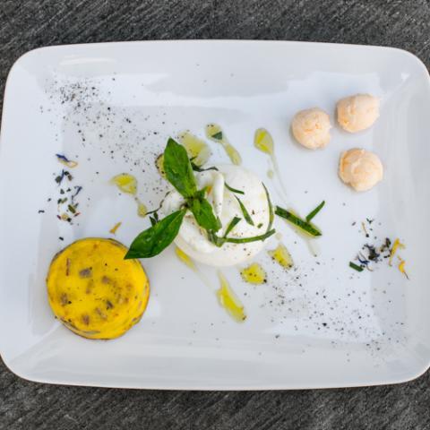 Tortino di Prosciutto Crudo e Parmigiano Convivio Ristotigelleria Toscana Vetrinando Arezzo