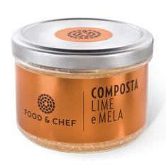 Composta Lime e Mela Food & Chef Vetrinando