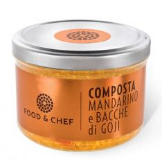 Composta Mandarino e Bacche di Goji Food & Chef Vetrinando