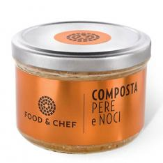 Composta Pere e Noci Food & Chef Vetrinando