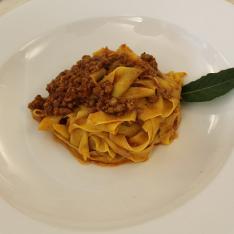Primi piatti Tagliatelle al ragù di Chianina ristorante la tagliatella Arezzo